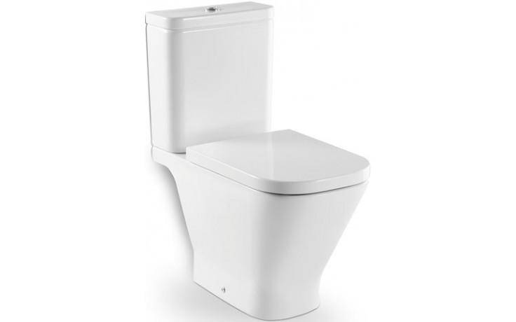ROCA THE GAP WC mísa kombi, 340x790mm hluboké splachování, svislý odpad, bílá