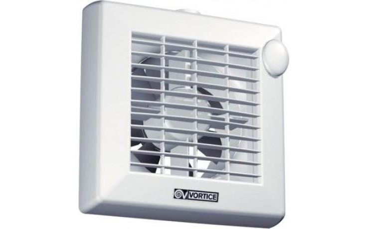 """VORTICE PUNTO M 120/5"""" AT axiální odsávací ventilátor, se žaluzií a doběhem, bílá, 11331"""