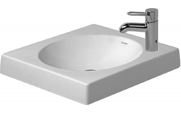 DURAVIT ARCHITEC umyvadlo 500x500mm bez otvoru, bez přetoku, bílá 0320500000