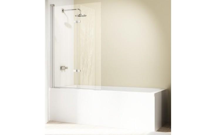 Zástěna vanová Huppe - Design elegance 1200x1500 mm stříbrná matná/čiré