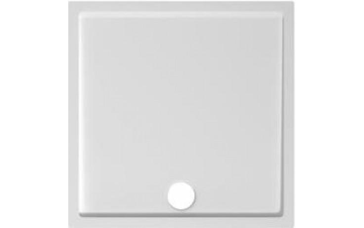 Vanička litý mramor Jika čtverec Padana 80x80 cm bílá