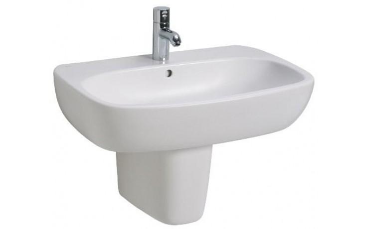 Umyvadlo klasické Kolo s otvorem Style 60x46 cm bílá