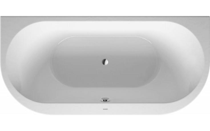 DURAVIT DARLING NEW vana 1900x900mm předstěnová, akrylát, bílá