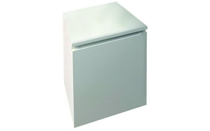 CONCEPT 150 skříňka spodní 40,1x36x67,6cm závěsná levá, bílá
