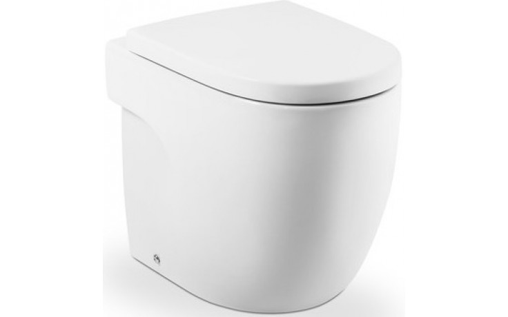 ROCA MERIDIAN samostatně stojící WC kapotované Compact 360x400mm hluboké splachování, vario odpad, bílá 7347247000