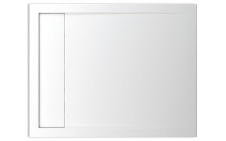 TEIKO HERCULES 100X80 sprchová vanička 100x80x3,5cm, obdélník, akrylát, bílá