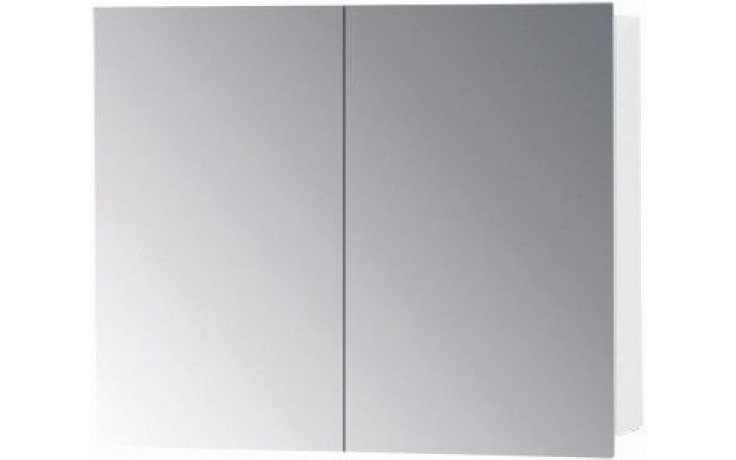 CONCEPT 300 zrcadlová skříňka 60x15x60cm, oliva/bílá