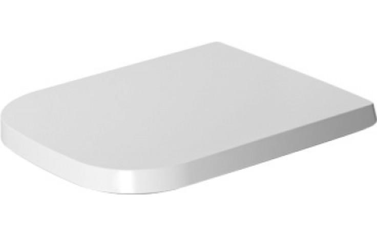 Sedátko WC Duravit duraplastové s kov. panty P3 Comforts, odnímatelné  bílá