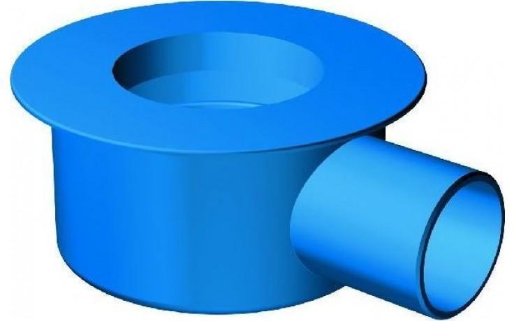 """CONCEPT 200 sifon """"max"""" DN70, 1,2 l/s, odnímatelná zápachová uzávěrka, boční odpad"""