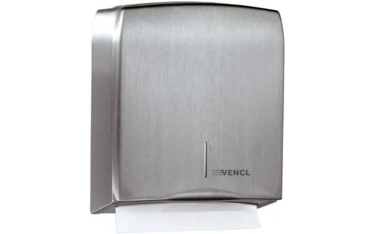 VENCL MEDIBOX CS zásobník na papírové ručníky 275x133x330mm, nerez