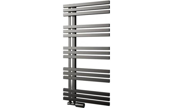 ISAN MELODY ECHO INOX koupelnový radiátor 500/1000mm, levé provedení, nerez