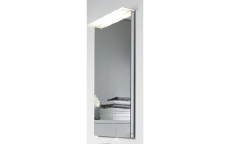 DURAVIT DELOS zrcadlo 600x36/105mm spínač vpravo, s osvětlením DL7241R0000