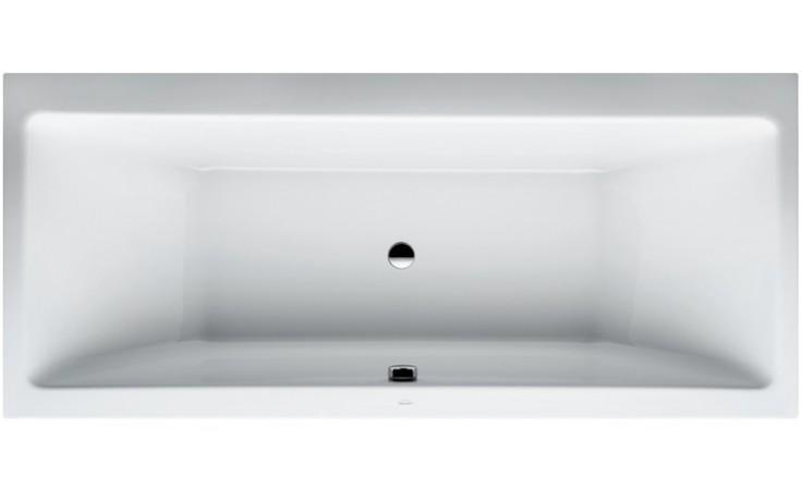 LAUFEN PRO samostatně stojící vana 1800x800mm akrylátová, s konstrukcí, bílá 2.3295.1.000.000.1