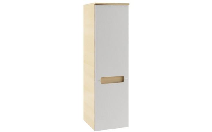 Nábytek skříňka Ravak SB-350 Classic sloup boční L 35x120x37cm bříza/bílá