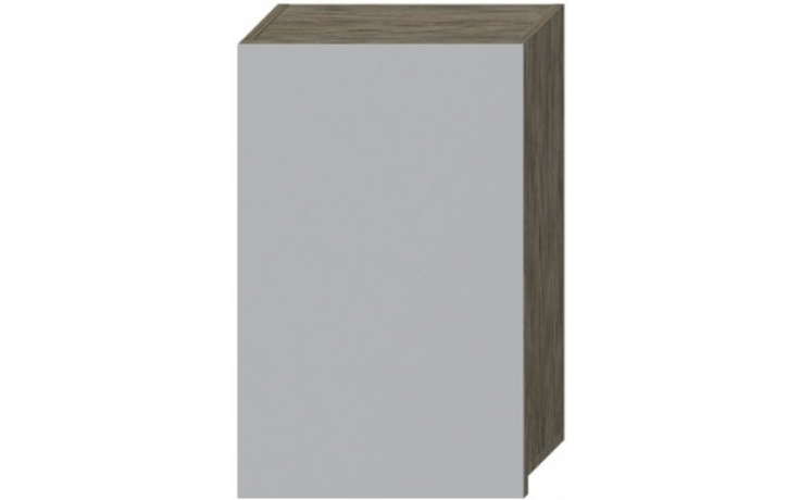 DEEP BY JIKA zrcadlová skříňka 480x170x760mm, zlatý dub