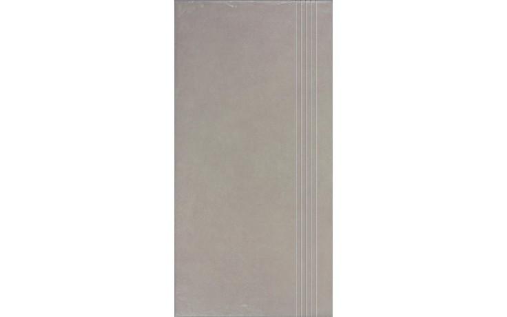 Schodovka Rako keramická slinutá Clay 30x60 cm béžovošedá