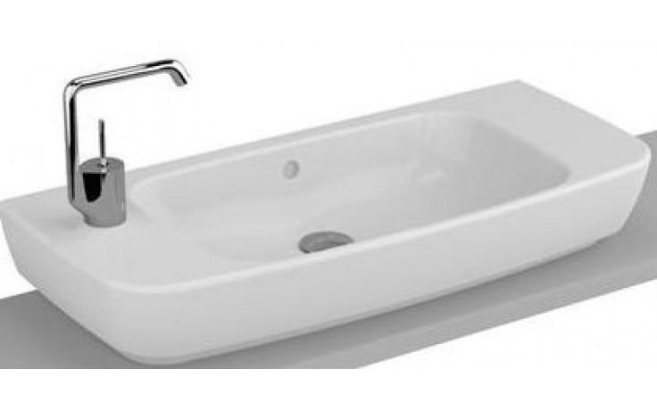 VITRA SHIFT kompaktní umyvadlo nábytkové 800x350mm s otvorem a přepadem bílá/lesk 4389B003-0922