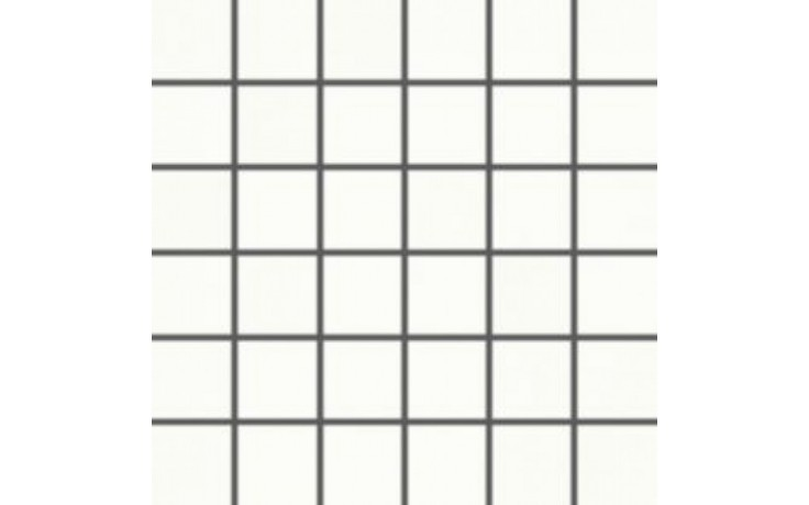 Obklad Rako Tendence mozaika 5x5 (30x30) cm bílá