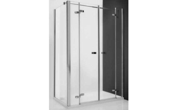 ROLTECHNIK ELEGANT LINE GDN2/1200 sprchové dveře 1200x2000mm dvoukřídlé pro instalaci do niky, bezrámové, brillant/transparent