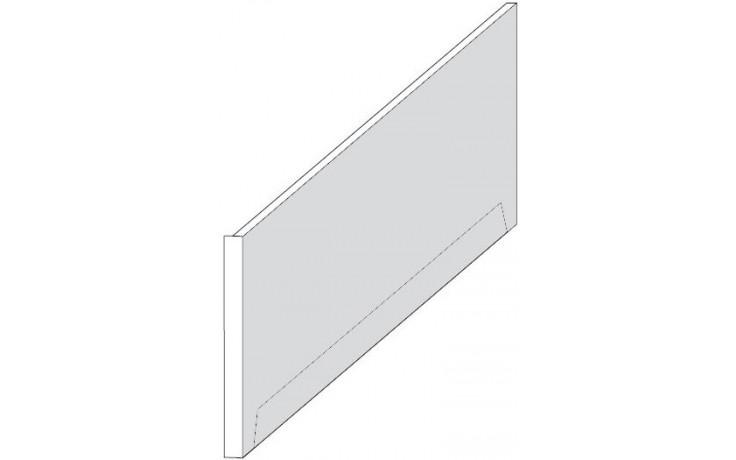 Příslušenství k vanám Ravak - čelní panel XXL 190 190x95 cm snowwhite