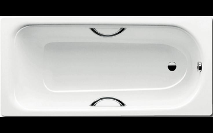 KALDEWEI SANIFORM PLUS STAR 332 vana 1600x700x410mm, ocelová, obdélníková, bílá Antislip , Perl Effekt
