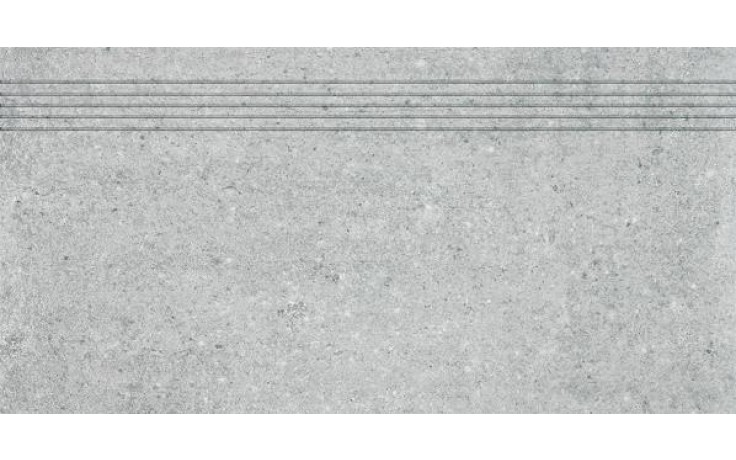 RAKO CEMENTO schodovka 30x60cm šedá DCPSE661