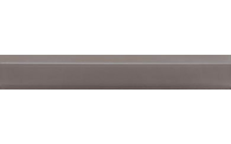 RAKO CONCEPT listela reliéfní 20x3cm tmavě šedá WLRDH034