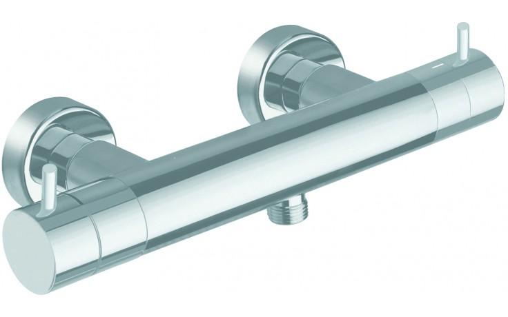 CRISTINA TRICOLORE VERDE sprchová baterie nástěnná termostatická 292x112mm chrom