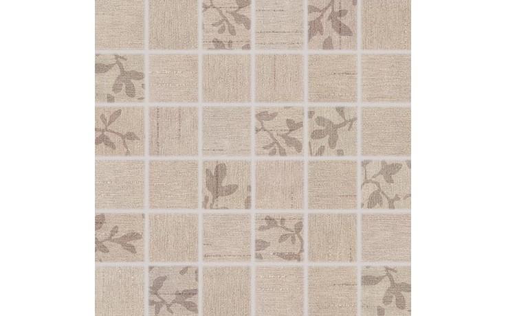 Obklad Rako Textile mozaika 30x30 cm (4,7x4,7) béžová