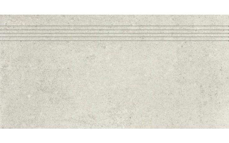 Schodovka Rako keramická slinutá Cemento 30x60 cm šedo béžová