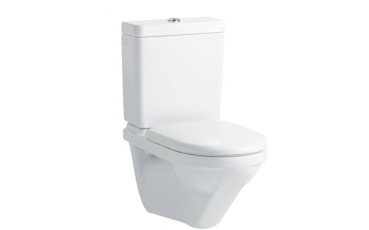 WC závěsné Laufen odpad vodorovný Moderna R hluboké splachování  bílá