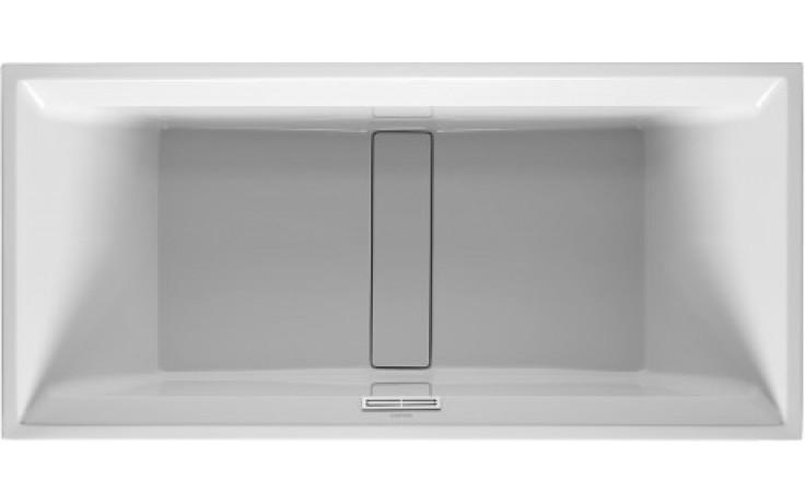 Vana plastová Duravit - 2nd floor na zabudování 1900x900 mm bílá