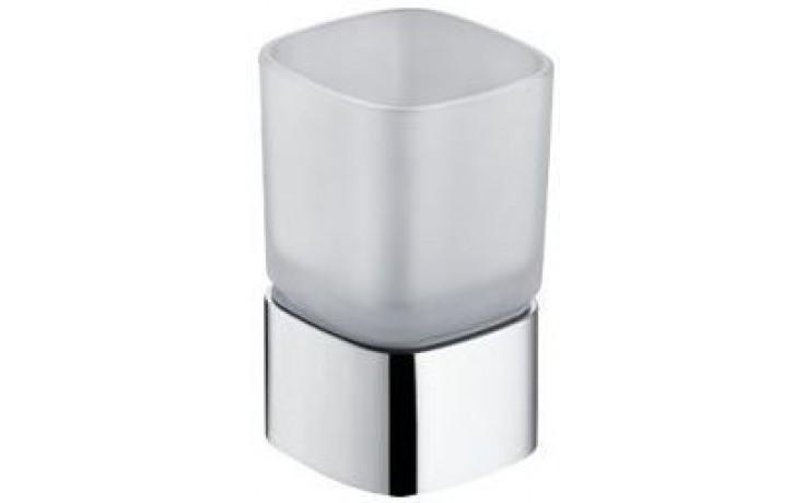 KEUCO ELEGANCE držák na skleničku 67x112, chrom/sklo