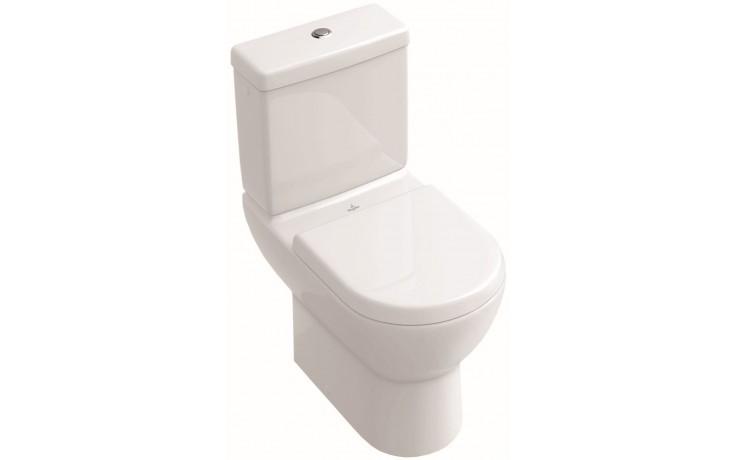 WC kombinované Villeroy & Boch odpad vodorovný Verity Design mísa bez nádržky, hluboké splachování 370x670mm Bílá Alpin