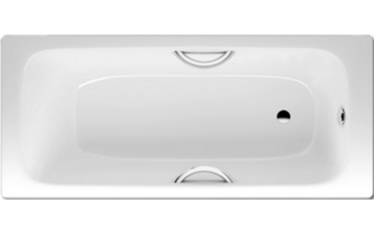 KALDEWEI CAYONO STAR 755 vana 1700x700x410mm, ocelová, obdélníková, bílá 275500010001
