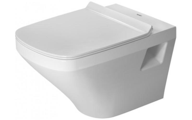 WC závěsné Duravit odpad vodorovný DuraStyle s hlubokým splachováním, rimmles 37x54 cm bílá