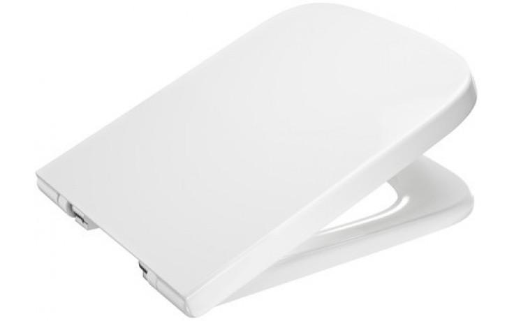 Sedátko WC Roca duraplastové Dama-N s poklopem  bílá