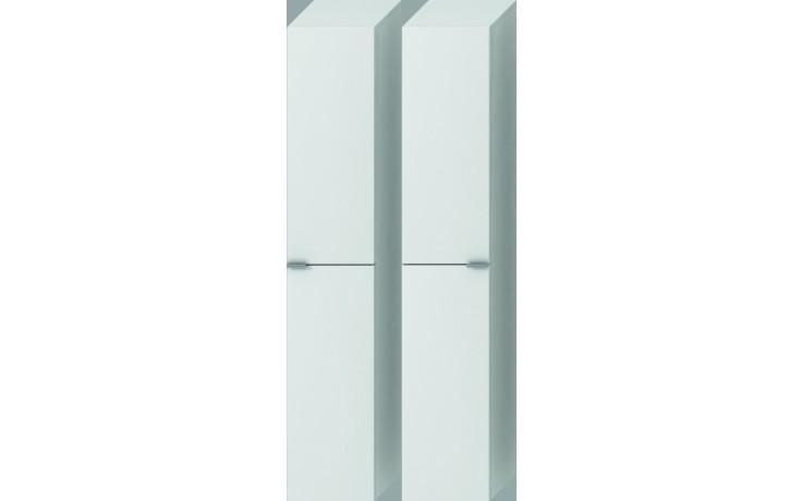 Nábytek skříňka Jika Tigo vysoká 30x162x27 cm bílá-bílý lak
