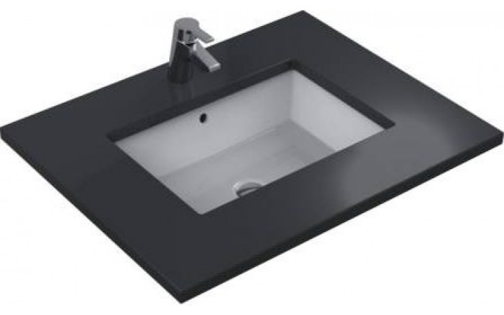 IDEAL STANDARD STRADA umyvadlo 595x435mm pod desku, bez otvoru s přepadem bílá K077901