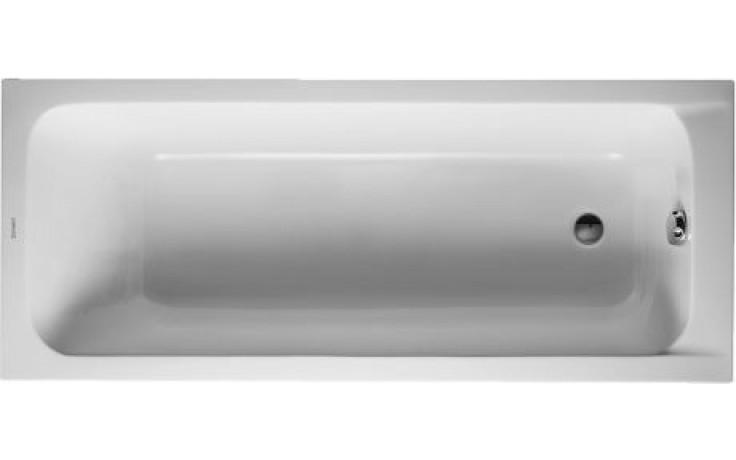 Vana plastová Duravit - D-Code 170x70 cm bílá
