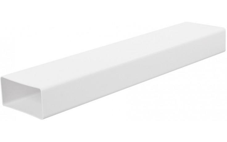 HACO V ventilační systém 110x55x500mm, plochý kanál, bílá 0613