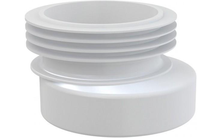 CONCEPT WC manžeta excentrická, bílá