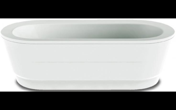 KALDEWEI CLASSIC DUO OVAL WIDE 115-7 vana 1800x800x430mm, ocelová, oválná, bílá Perl Effekt 291600013001