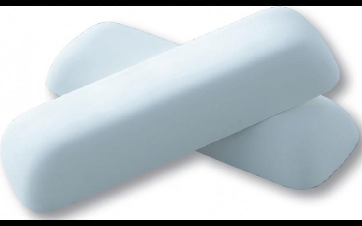 KALDEWEI 7576 polštář 350x120x50mm, sada 2ks, bílá