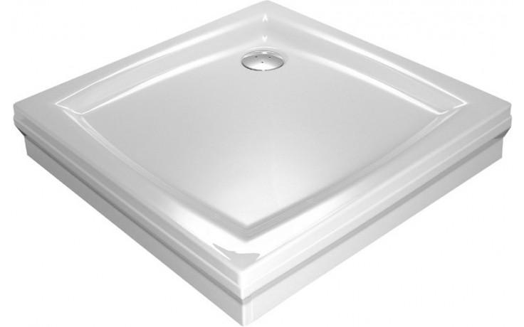 RAVAK PERSEUS 80 SET L panel 800mm, včetně upevnění, do rohu, bílá