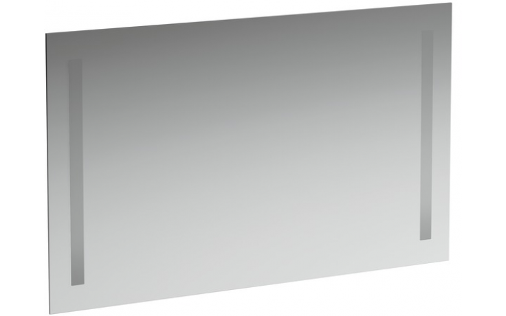 LAUFEN CASE zrcadlo 1000x48mm 2 zabudované osvětlení, se spínačem