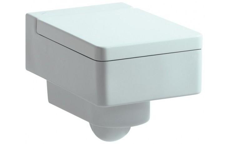 WC závěsné Laufen odpad vodorovný Living City  bílá
