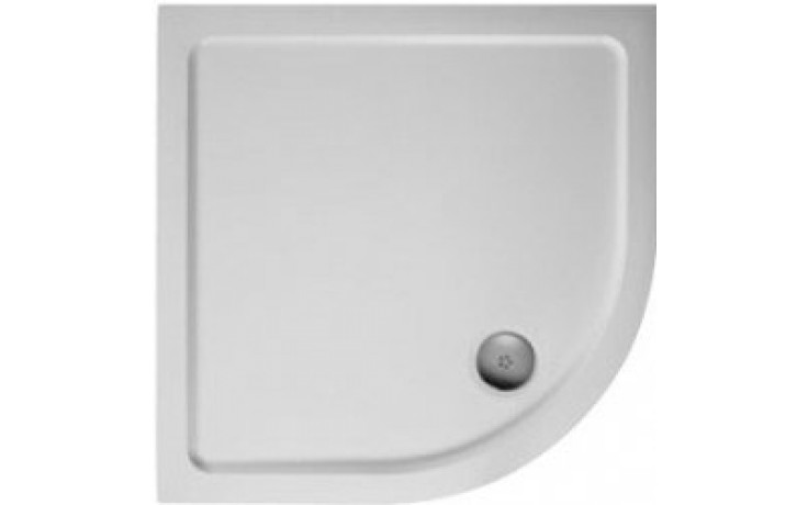Vanička litý mramor Ideal Standard čtvrtkruh Simplicity Stone 910x910x40mm bílá
