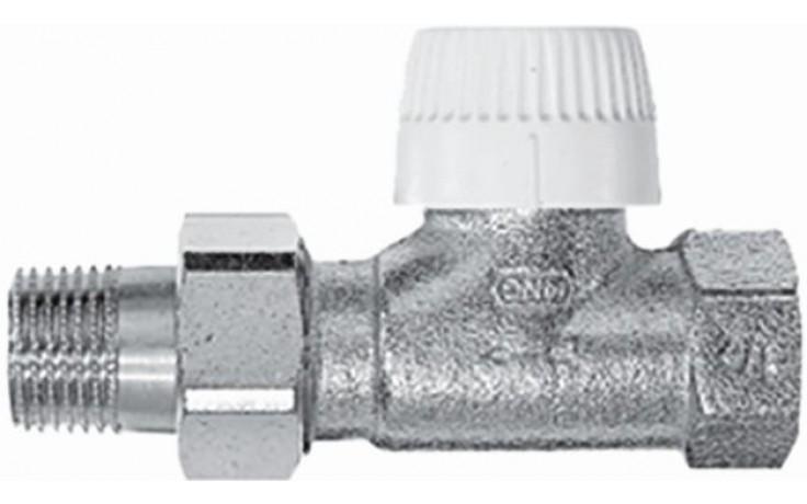 """Ventil radiátorový - závitový termostat. Concept Ventil VPT 70 3/4"""" - přímý s přednastavením"""