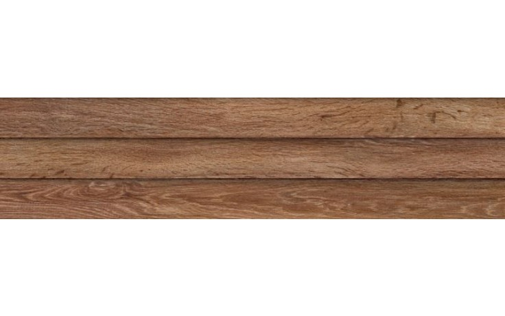 IMOLA WOOD dekor 24x100cm red, L.WOOD 3D R